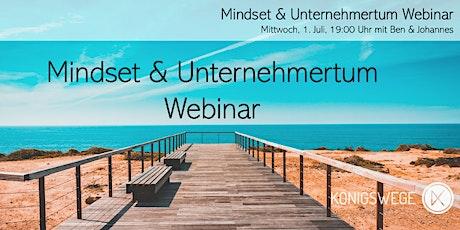 HQ: Mindset & Unternehmertum Webinar Tickets