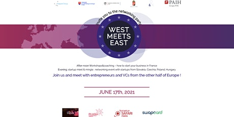 West meets East - EU startups meet & mingle #VivaTech2021 billets