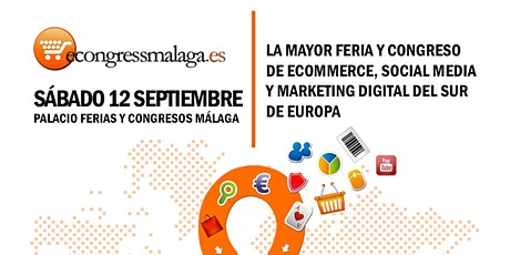8º eCongress Málaga | SÁBADO 12 SEPTIEMBRE: Área Juventud Ayto Málaga entradas