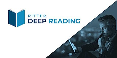 Deep Reading - Schneller, klüger und nachhaltiger lesen Tickets