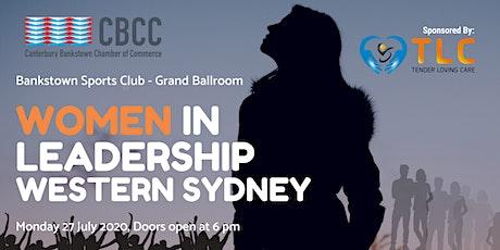 Women in Leadership - Western Sydney tickets