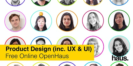 Product Design (inc. UX & UI) OpenHaus | Free Online Info Session tickets