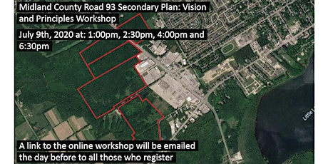 Midland County Road 93 Secondary Plan: Vision and Principles Workshop tickets