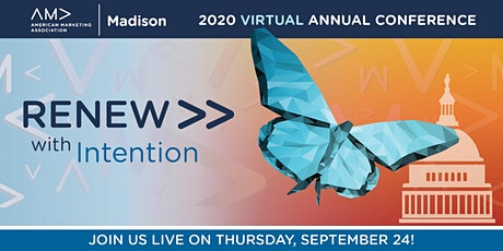 AMA Madison 2020 Annual Conference: RENEW with Intention tickets
