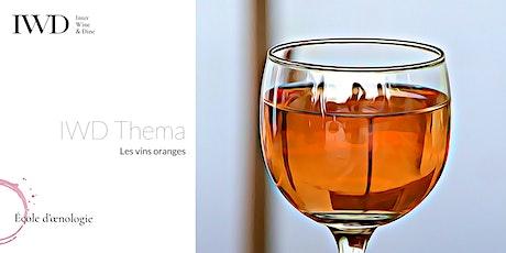 IWD Thema - Les vins oranges billets