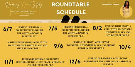 Roundtable Series: Hearing Stories Powered x Bold Babes Co tickets