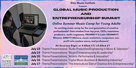 Global Music Production & Entrepreneurship Summit tickets