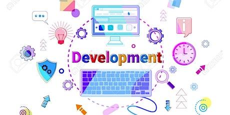 Salon professionnel sur le développement de la stratégie d'entreprise. tickets