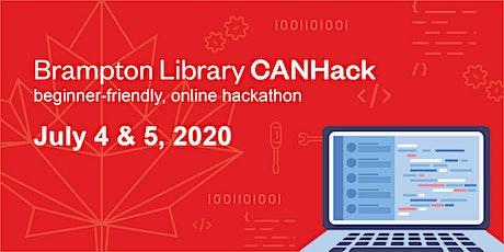 Brampton Library CANHack tickets