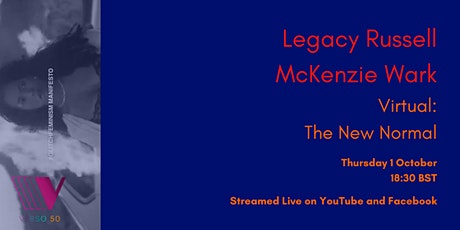 VERSO LIVE: Legacy Russell and McKenzie Wark tickets
