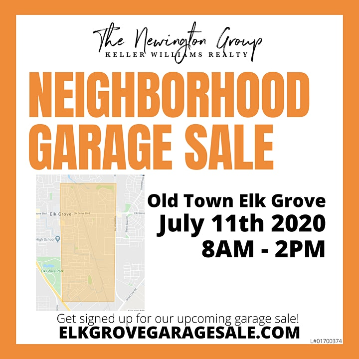 Elk Grove Community Garage Sale - Old Town Elk Grove image