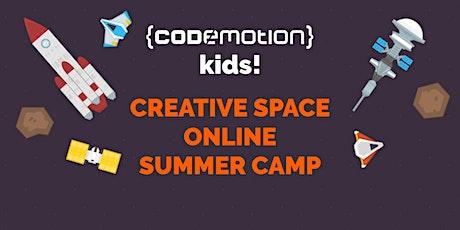 Codemotion Kids! Summer camp online biglietti