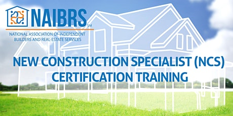 NAIBRS New Construction Specialist (NCS) Certification Class 9/16/2020 tickets