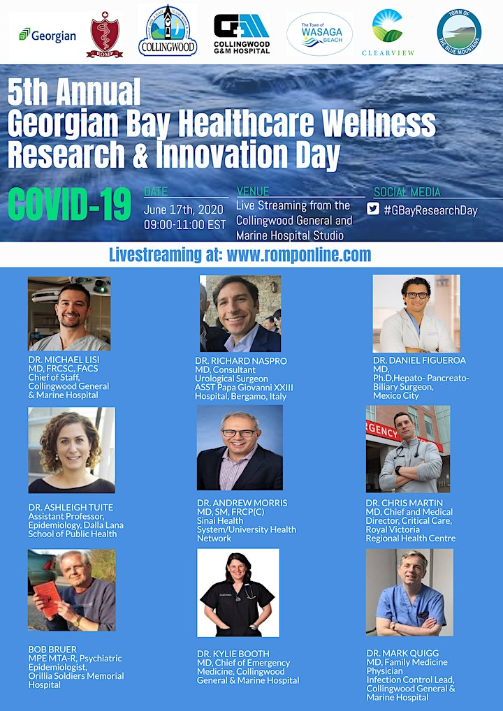 Georgian Bay Healthcare Wellness Research and Innovation Day 2020 image