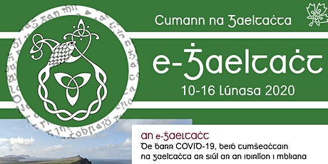 Tumsheachtain Samhradh (ar Líne) 2020 // 2020 Irish Immersion Week (Online) tickets