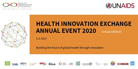 Health Innovation Exchange Annual Event 2020, virtual edition! tickets