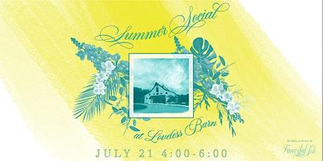 Summer Social - TWESA, ILEA, NACE, and H&H tickets