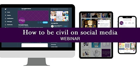 How to be civil on social media (webinar) tickets