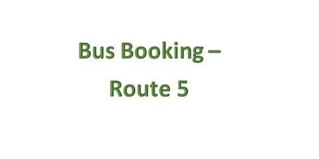 Bus Bookings - Route 5 - Dulais Valley tickets