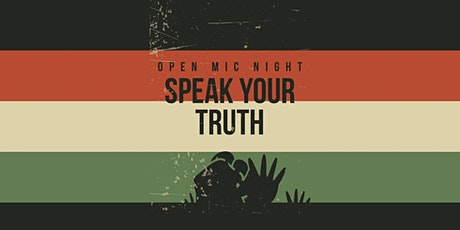 SPEAK UP OPEN MIC FESTIVAL  : (#BlackLivesMatter) tickets