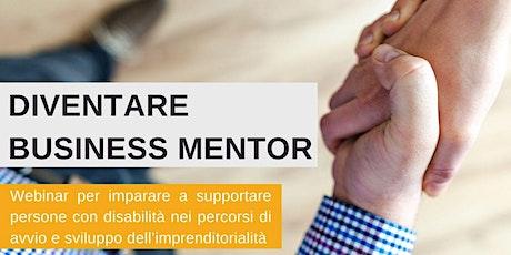 Diventare Business Mentor - Webinar Gratuito biglietti