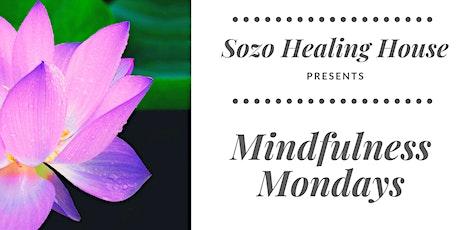 Sozo's Mindfulness Mondays 6-Week Series tickets