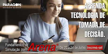 Treinamento Online: Fundamentos de Simulação com Arena - 20 a 24 de Julho ingressos