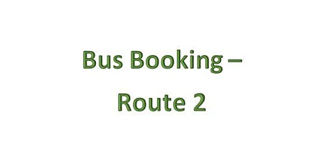 Bus Bookings - Route 2 - Ammanford tickets