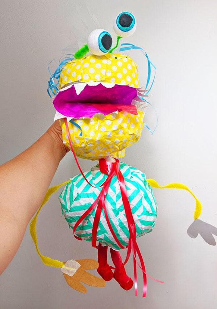 FREE Puppet Making Workshop with Steph Reeves of Gynormous Rawkus (Online) image