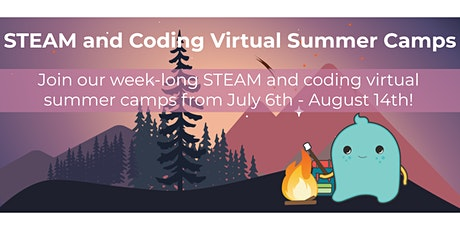 Virtual STEAM and Coding Summer Camp with SAM Labs tickets