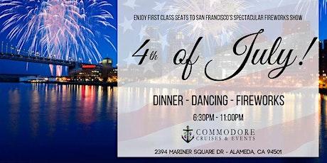 Speakeasy 4th of July Pier Pressure Fireworks Cruise tickets
