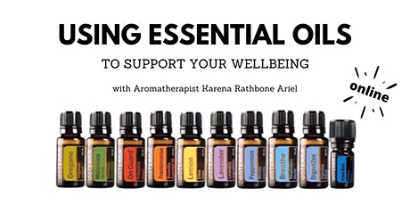 Using Essential Oil to Support Your Wellbeing tickets