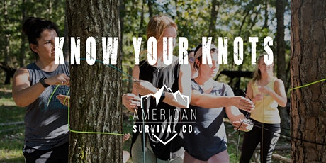 Know Your Knots w/ Tarps and Hammocks - AR tickets