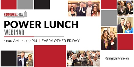CommercialForum Power Lunch tickets