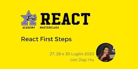 React First Steps [GrUSP Academy] biglietti