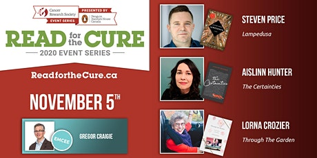 Read for the Cure 05/11  [Lorna Crozier - Aislinn Hunter - Steven Price] tickets