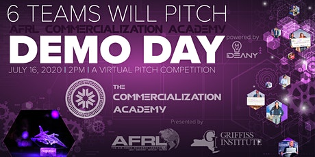 VIRTUAL DEMO DAY: Spring 2020 AFRL Commercialization Academy tickets