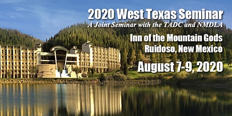 2020 West Texas Seminar tickets