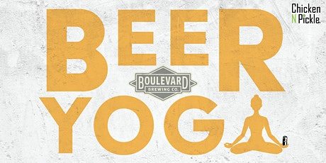 Boulevard Beer Yoga tickets