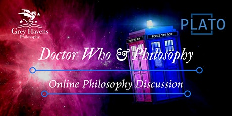 Fandom Fridays! Doctor Who & Philosophy - Online Discussion tickets