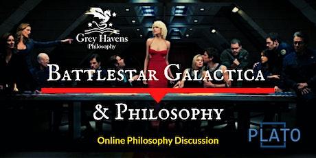 Fandom Fridays! Battlestar Galactica & Philosophy - Online Discussion tickets