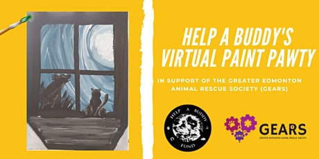 Help a Buddy's Virtual Paint Pawty in support of GEARS tickets