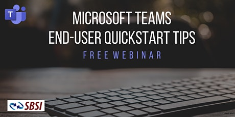 Microsoft Teams Introduction Webinar - QuickStart and Tips tickets