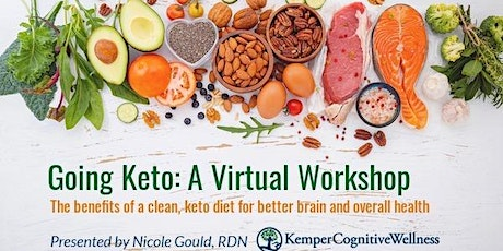 Going Keto: A virtual workshop on the benefits of a keto diet tickets