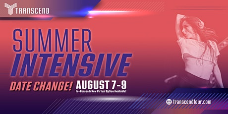Transcend Summer Intensive: August 7-9, 2020 tickets