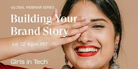 Webinar: Building Your Brand Story tickets