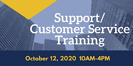 Support/Customer Service Training tickets