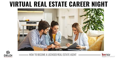 Career Night with The Deldi Ortegon Group Keller Williams Realty RGV tickets