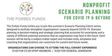 Nonprofit Scenario Planning for COVID-19 and Beyond tickets