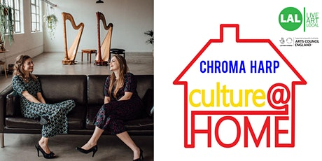 FREE, Fun, Interactive Family Music Performance with Chroma Harp (Online) tickets